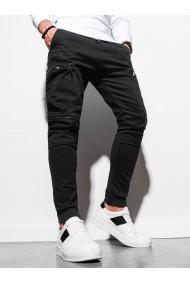 Pantaloni joggers barbati P997 - negru