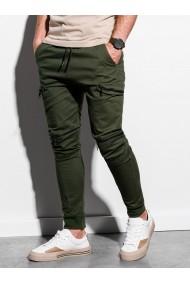 Pantaloni joggers barbati P997 - khaki