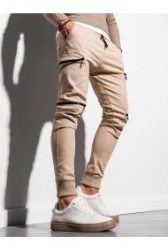 Pantaloni joggers barbati P997 - bej