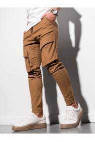 Pantaloni joggers barbati P999 - camel