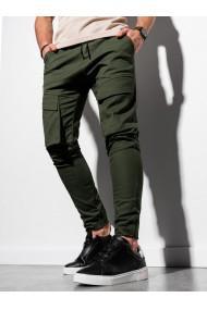 Pantaloni joggers barbati P999 - khaki