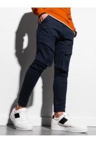 Pantaloni joggers barbati P999 - bleumarin
