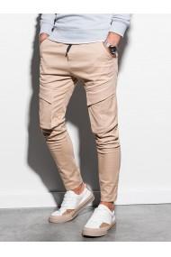 Pantaloni joggers barbati P999 - bej