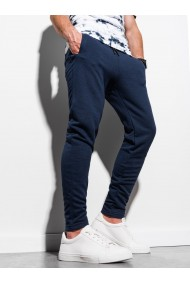 Pantaloni de trening barbati - P1004 - bleumarin