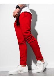 Pantaloni de trening barbati - P1004 - rosu