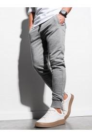 Pantaloni de trening barbati - P1005 - gri