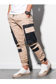 Pantaloni joggers barbati P998 - bej