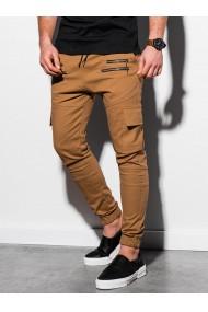 Pantaloni joggers barbati P1000 - camel