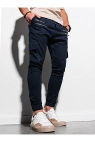 Pantaloni joggers barbati P1000 - bleumarin