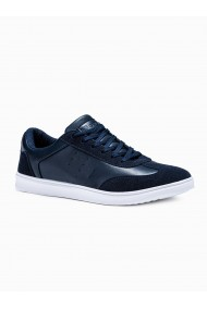 Pantofi casual barbati T373 - albastru-inchis