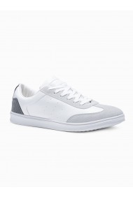 Pantofi casual barbati T373 - alb