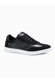 Pantofi casual barbati T373 - negru
