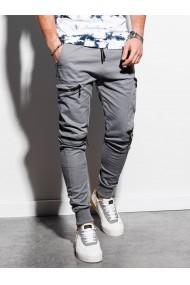 Pantaloni joggers barbati P997 - gri