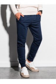 Pantaloni de trening barbati - P1005 - bleumarin