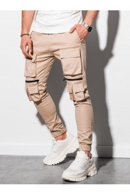 Pantaloni joggers barbati P995 - bej