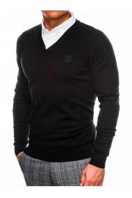 Pulover casual barbati E120 - negru