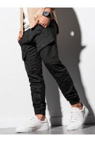 Pantaloni joggers barbati P925 - negru