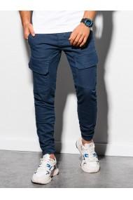 Pantaloni joggers barbati P925 - albastru