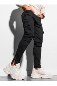 Pantaloni joggers cargo barbati P924 - negru