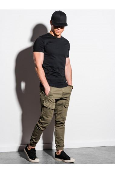 Tricou simplu barbati S1370 - negru