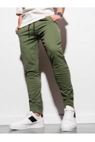 Pantaloni de trening barbati P952 - khaki