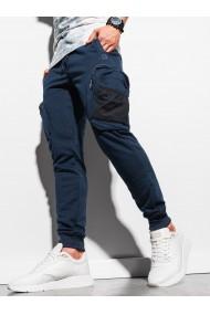 Pantaloni barbati - P918 - bleumarin