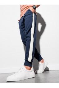 Pantaloni barbati P947 - bleumarin