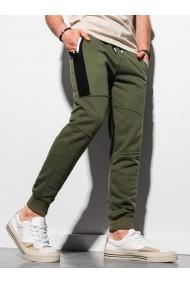 Pantaloni de trening barbati - P903 - khaki