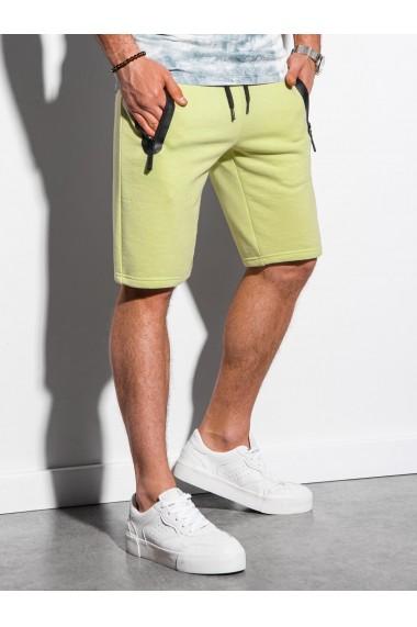 Pantaloni scurti barbati W239 - negru