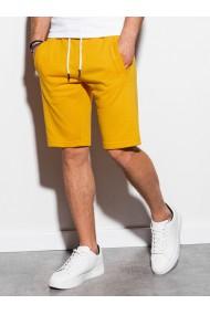 Pantaloni scurti barbati - W238 - galben