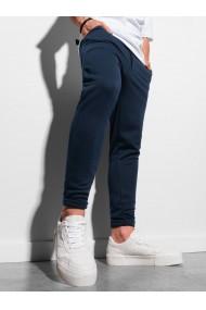 Pantaloni quintessence barbati P949 - bleumarin