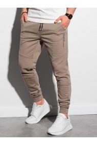 Pantaloni performance barbati P954 - camel