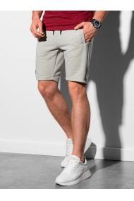 Pantaloni scurti performance barbati W294 - gri-deschis