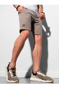 Pantaloni scurti performance barbati W294 - maro