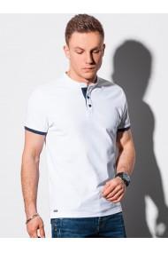 Tricou Polo polo barbati S1381 - alb