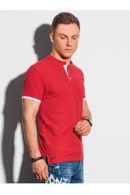 Tricou Polo polo barbati S1381 - rosu