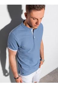 Tricou Polo polo barbati S1381 - albastru