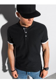 Tricou Polo polo barbati S1381 - negru