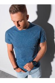 Tricou barbati S1375 - albastru