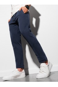 Pantaloni barbati P946 - bleumarin
