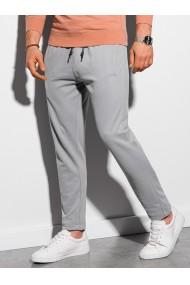 Pantaloni barbati P946 - gri-deschis