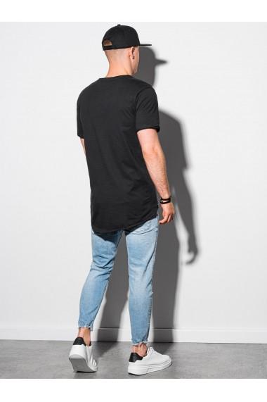 Tricou barbati S1378 - negru