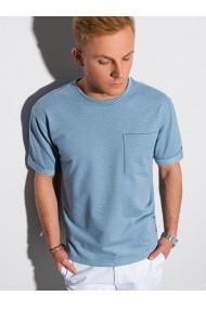Tricou barbati S1371 - albastru