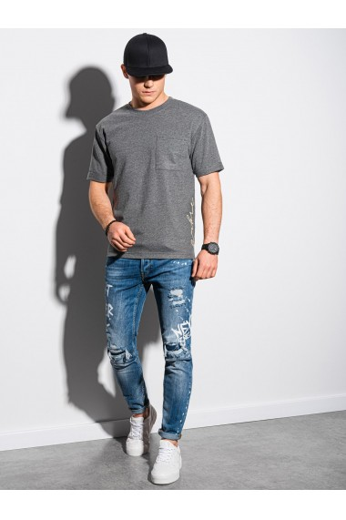 Tricou barbati S1371 - negru