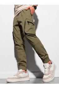 Pantaloni joggers barbati P960 - verde