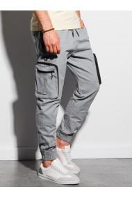 Pantaloni joggers barbati P960 - gri