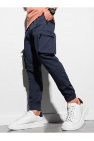 Pantaloni joggers barbati P960 - bleumarin
