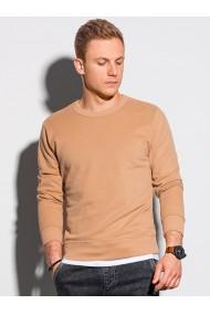 Bluza barbati B1146 - maro-deschis
