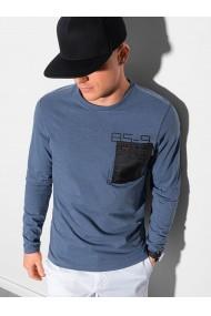Bluza performance barbati L130 - albastru-inchis