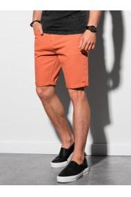 Pantaloni scurti casual barbati W303 - portocaliu